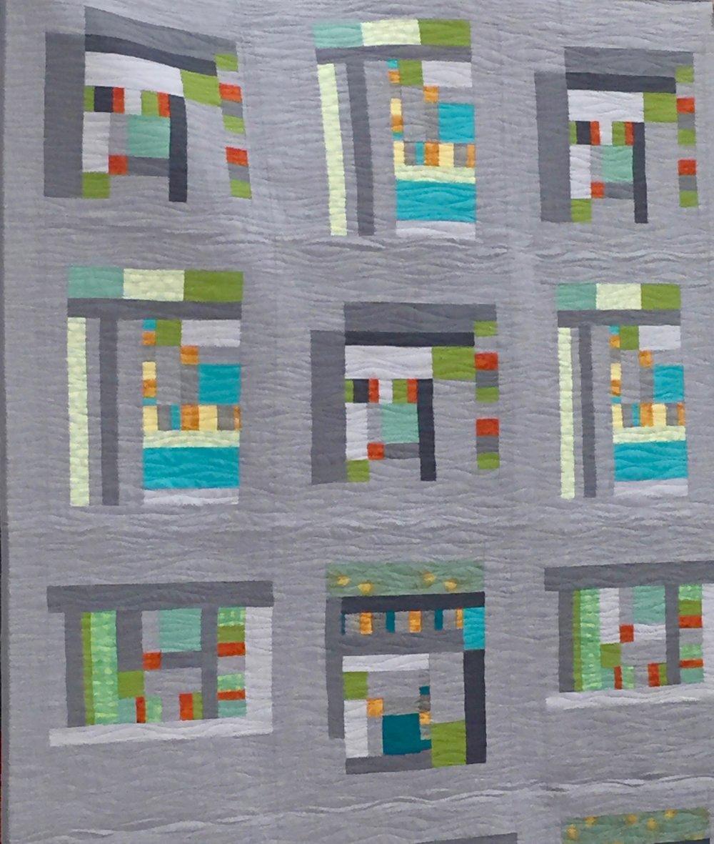"""Improv in Gray"" by Carol Cain"
