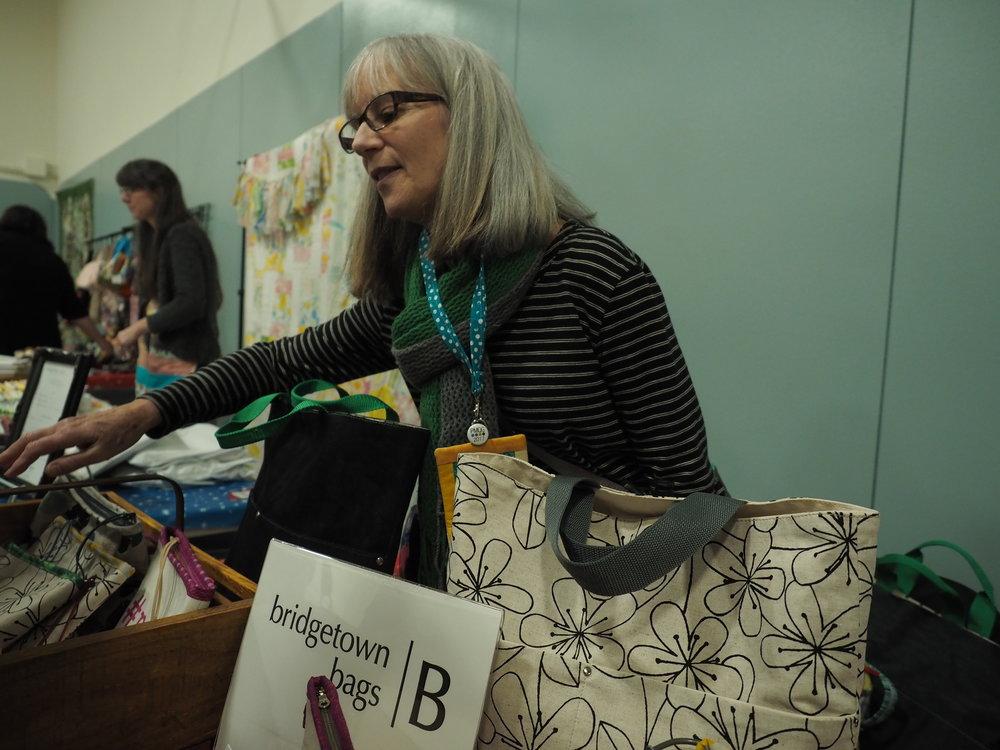 Marcia Mersky of Bridgetown Bags