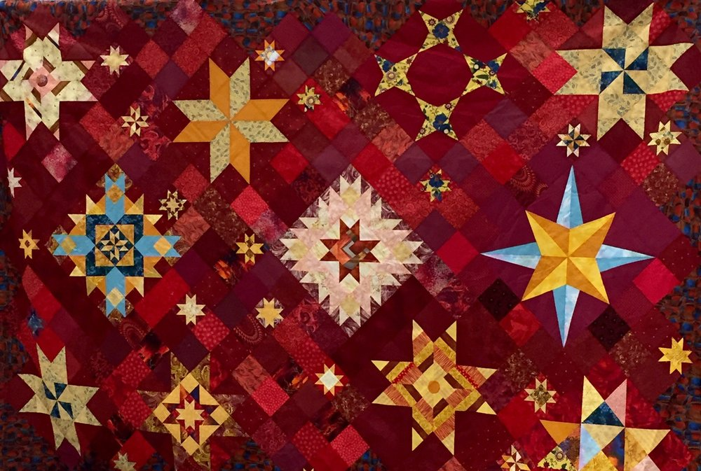 BOM Quilt by Betty Colburn