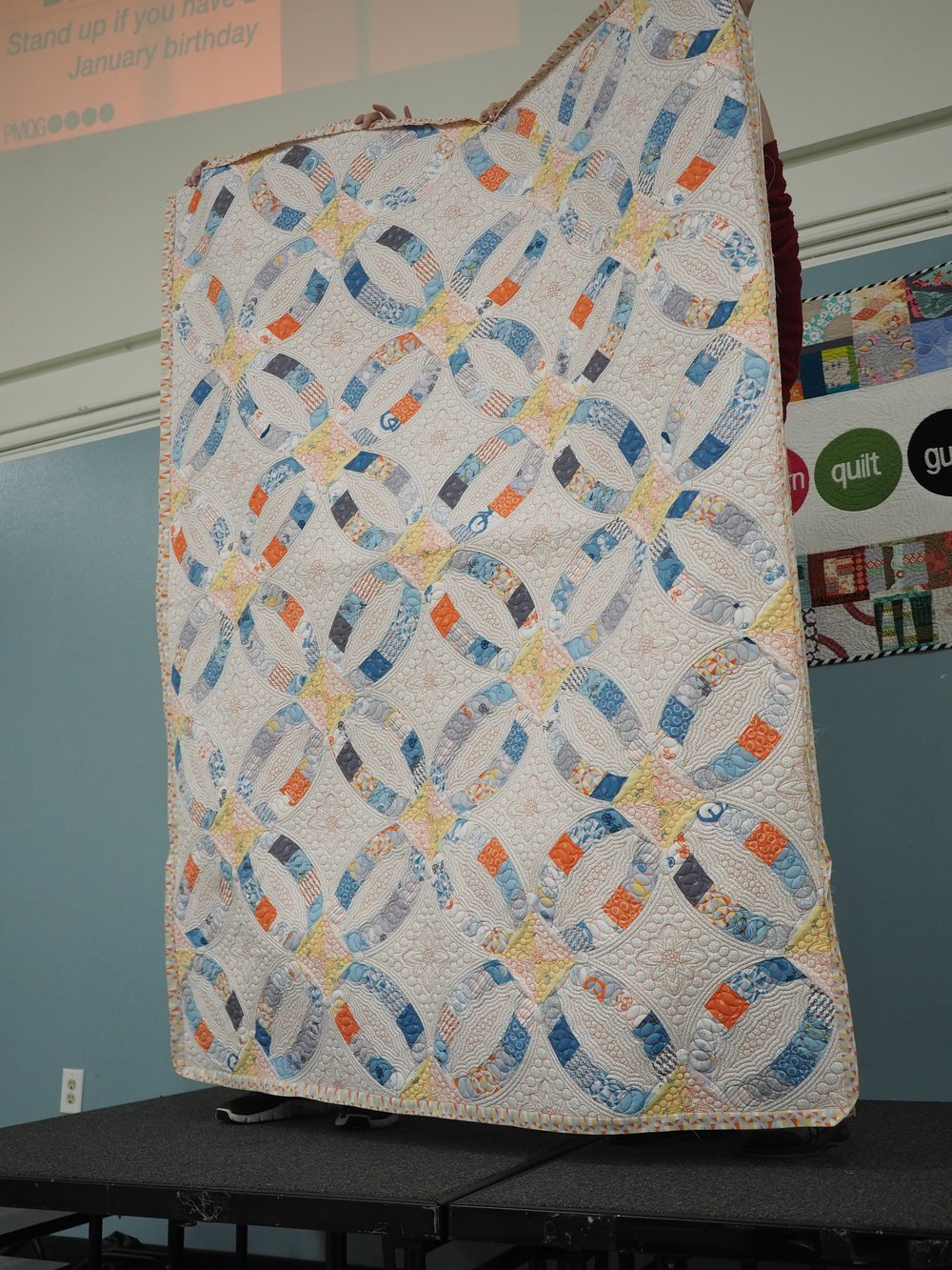Erin and Ben's Wedding Quilt