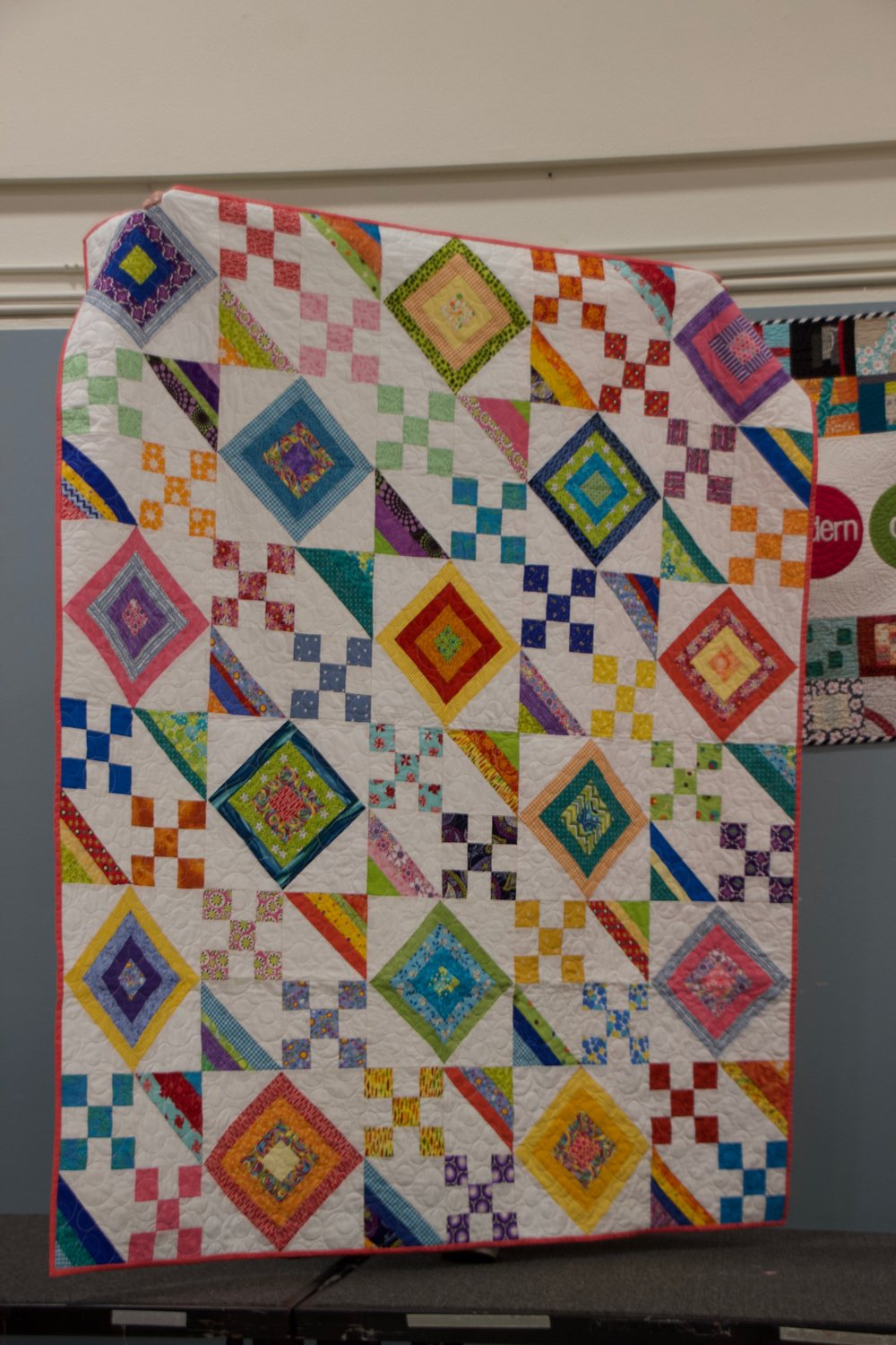 Scrappy Magazine Quilt by Jolene Knight