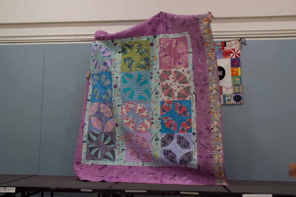 Reverse of Mia's Quilt by Cris Pera
