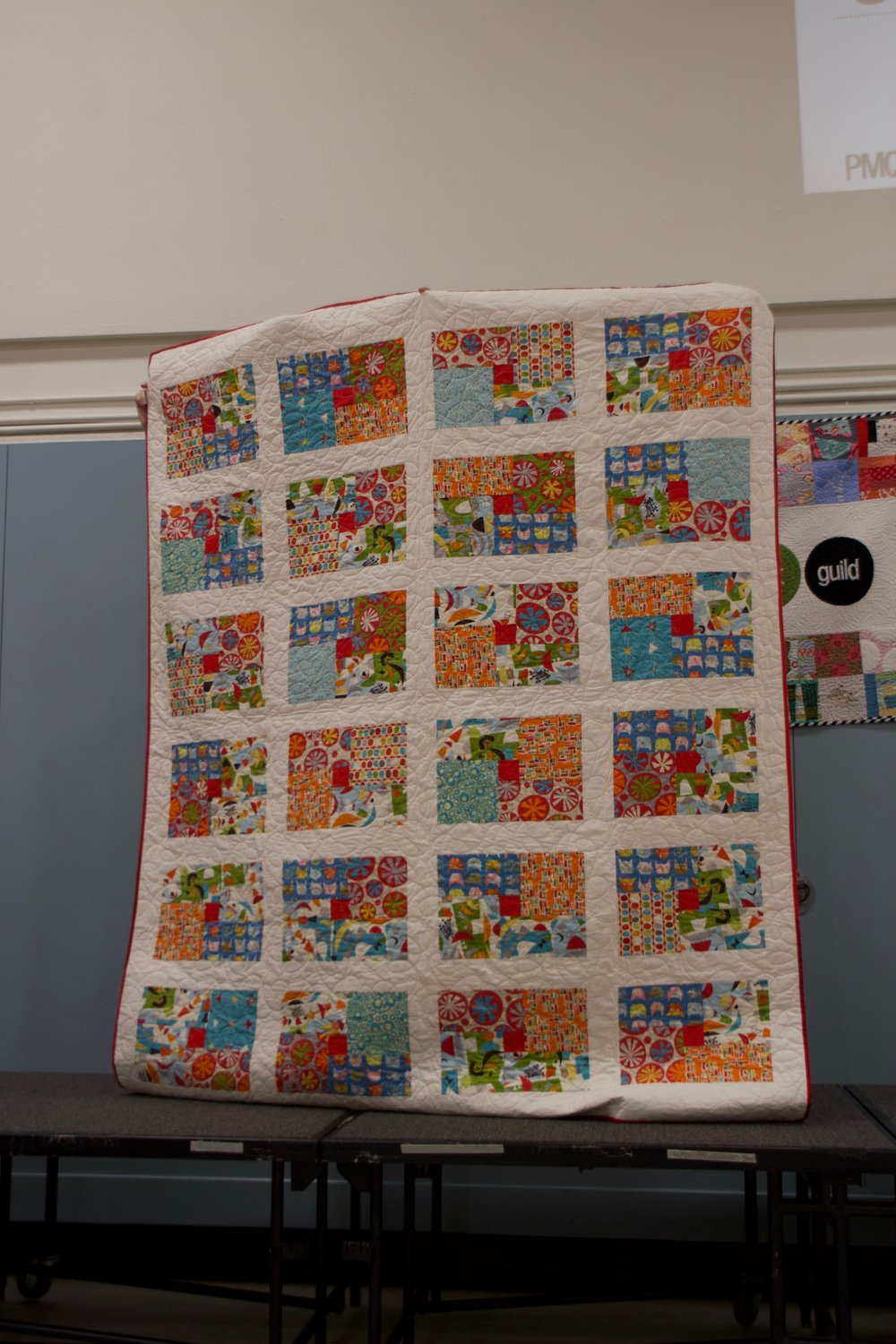PMQG Charity Quilt destined for Camp Erin