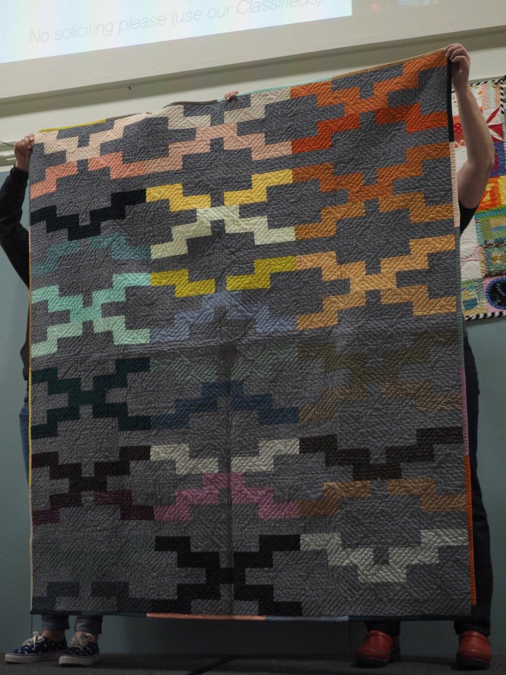 Interlock Quilt by Heather Wall