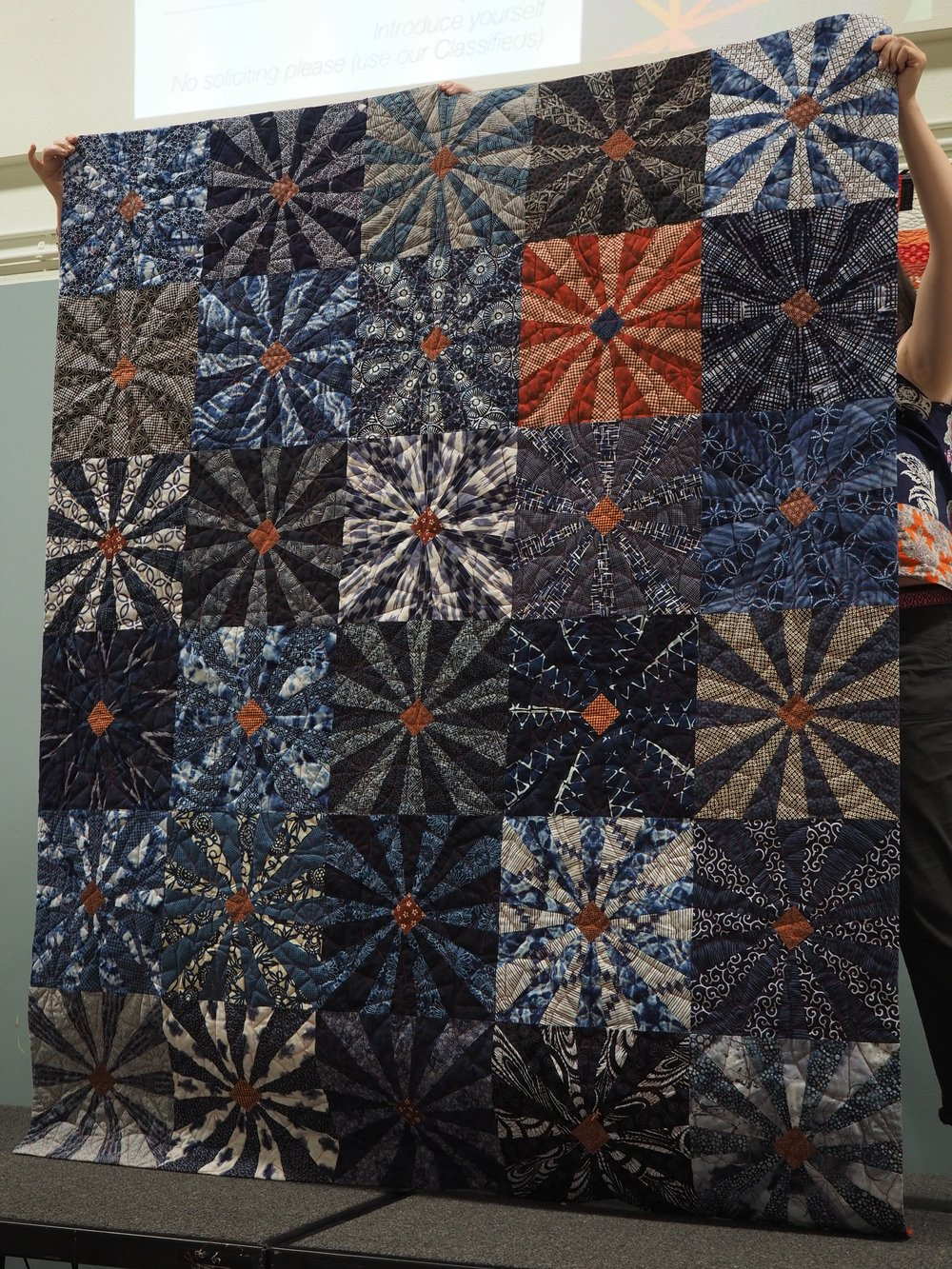 Another Indigo Quilt by Cris Pera