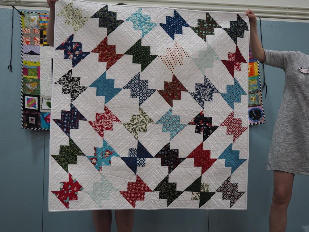 Charity Quilt by Ellen Mickamim