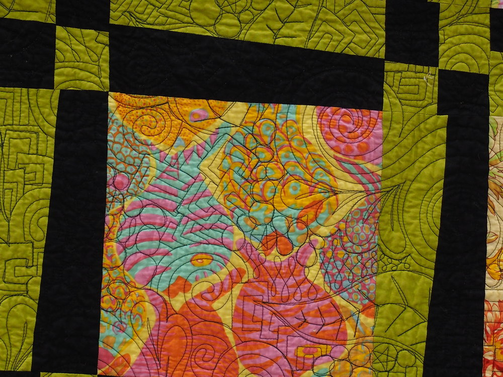 Detail of Quilt by Tracie Barisich