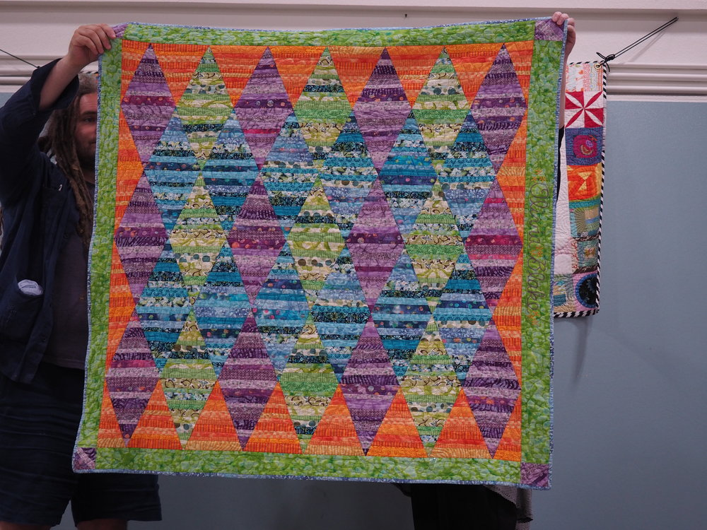 Olivia's Baby Quilt by Molly Katzenmeyer