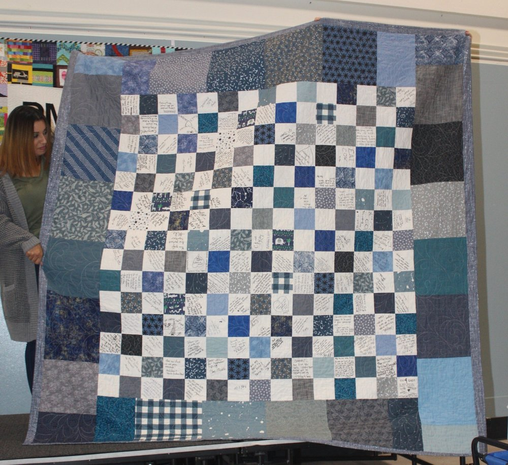 Reverse of the Wedding Quilt by Kitty Yunger