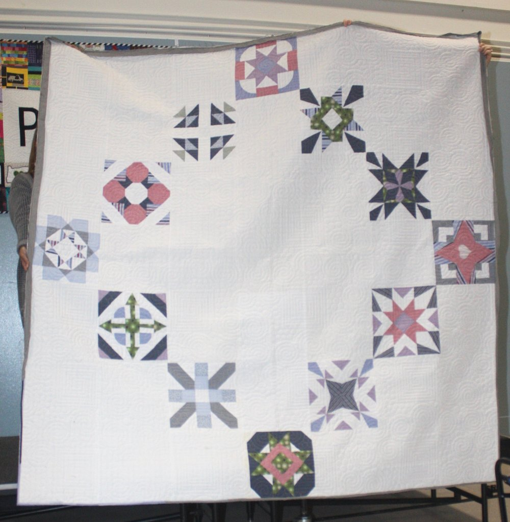 David's Memory Quilt by Angie Reat