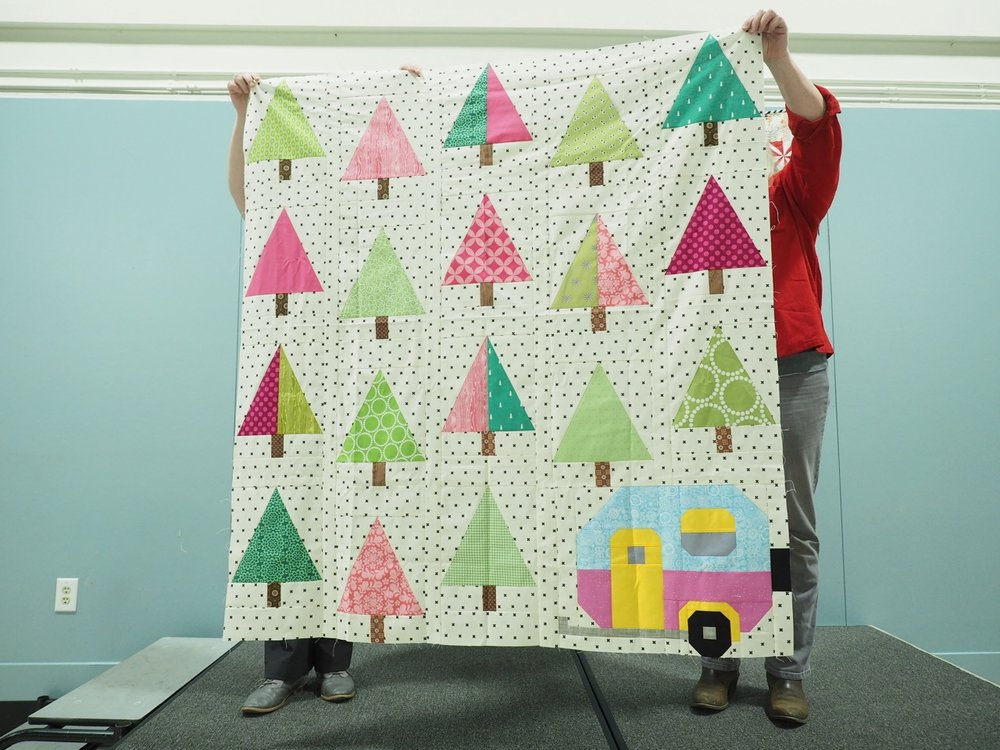 Up North Quilt by Jessica Prosper-Bohanan