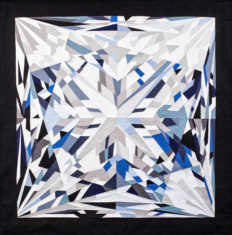 ElizabethSeries: Diamond Divas (2018) - W X H: 45