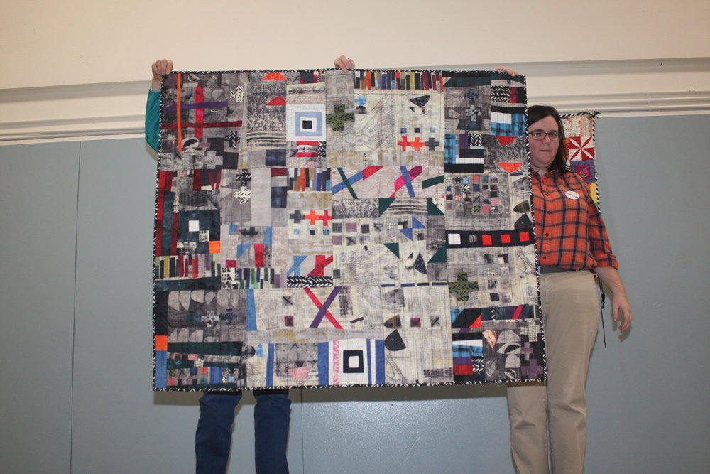 Improv Quilt by Judy Livingston's Small Group