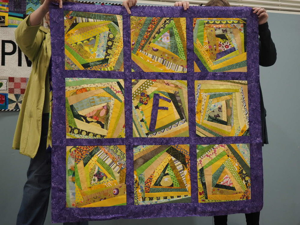 Freya's Quilt by Kat Hill