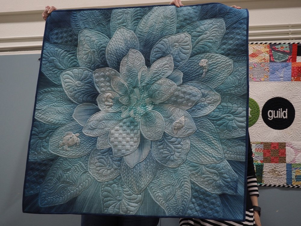 Dream Big Quilt by Linda Ivy