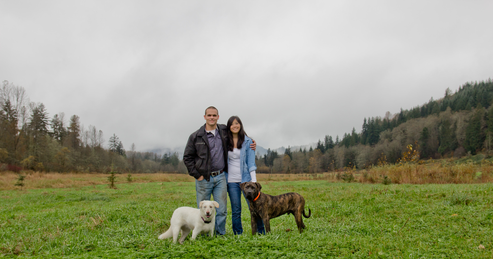 In love with the pictures Justin took of my husband and I with our two dogs! The mini session was the perfect amount of time to capture some really great family photos. We will be using the pictures for our holiday cards this year! - Julie