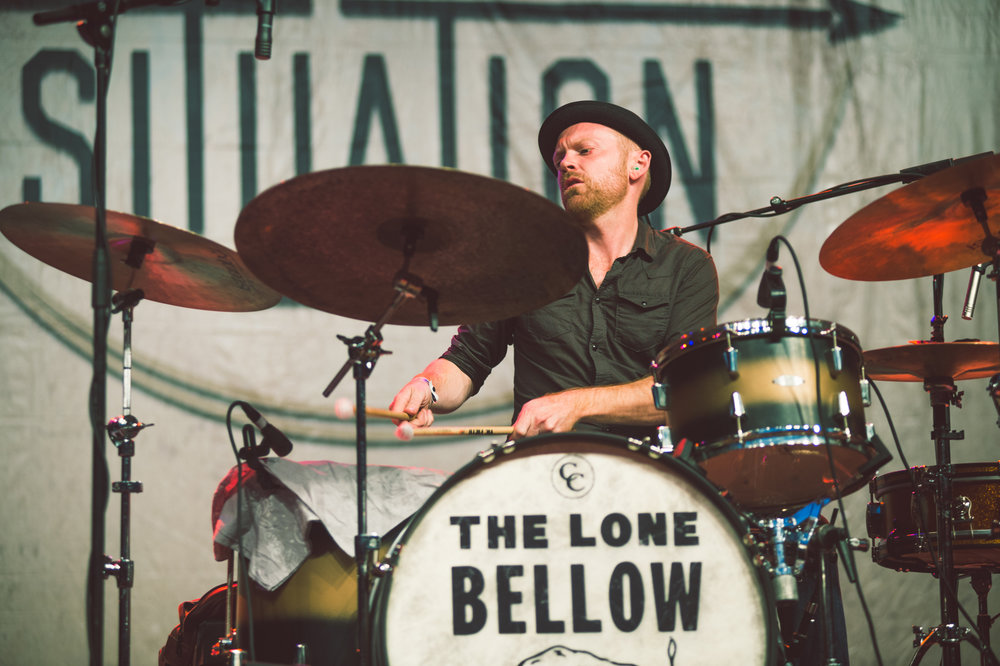 The Lone Bellow, Bluegrass Situation 2015