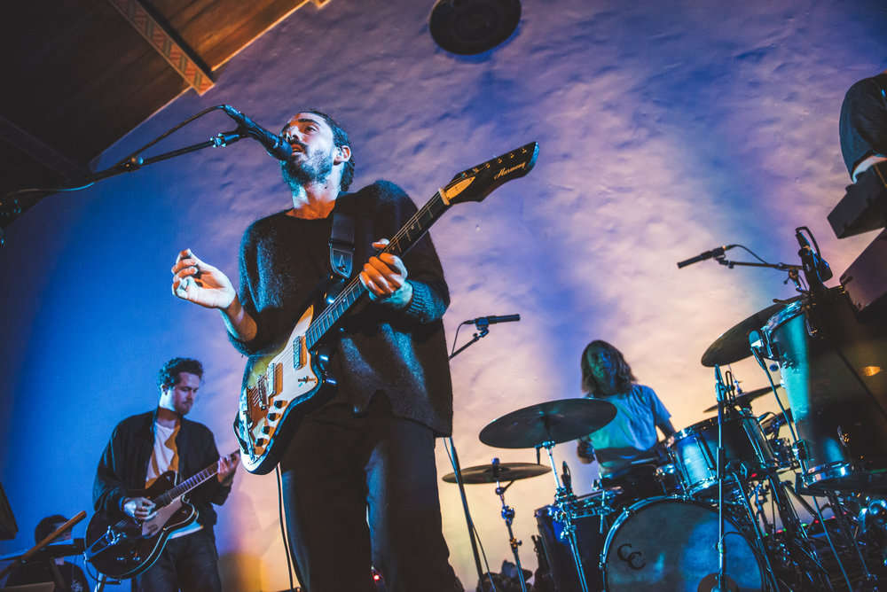 Local Natives, Hollywood Forever Masonic Lodge