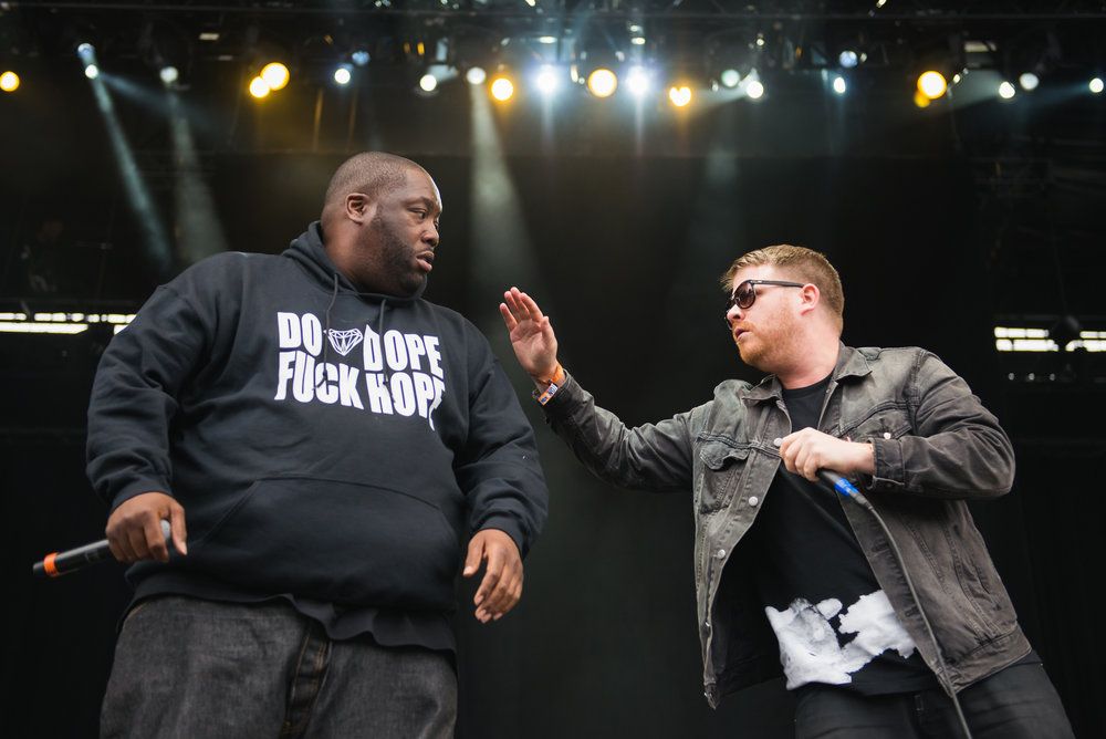 Run The Jewels, Outside Lands 2014