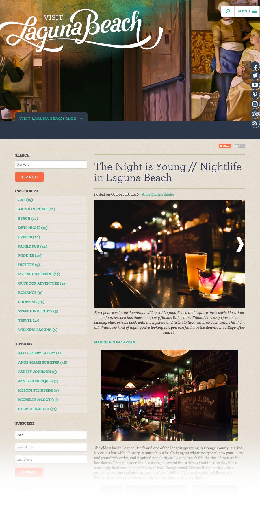 Visit Laguna blog