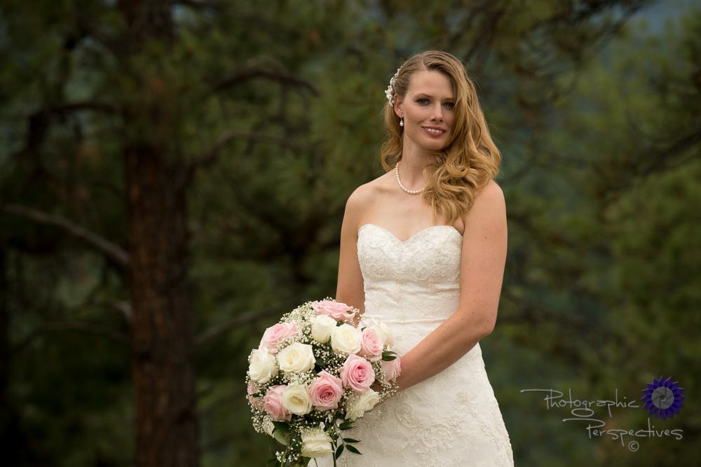 outdoor wedding, bridal portrait, sweetheart wedding dress, Pago