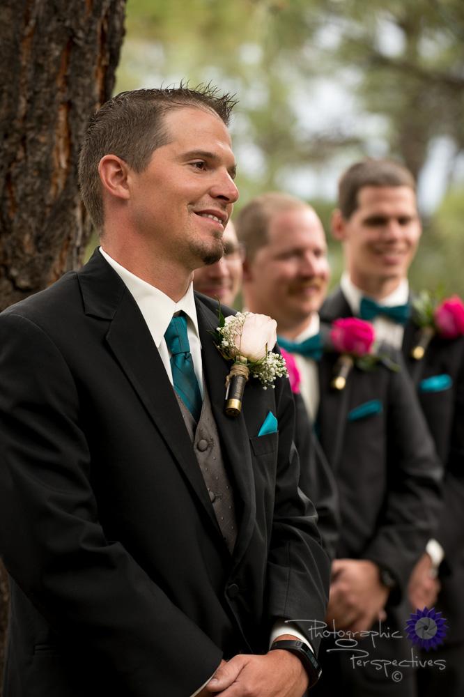 wedding Ceremony Pictures, Wedding Ceremony, white rose corsage,
