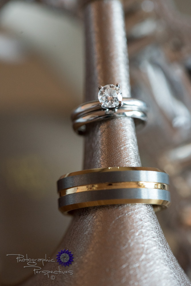 wedding details, wedding rings, couples rings, silver and gold