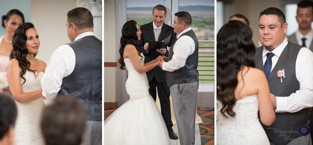Isleta Resort | Wedding Ceremony Vows |Albuquerque Wedding | Isleta Resort and Casino | Albuquerque Wedding Photographers | Photographic Perspectives