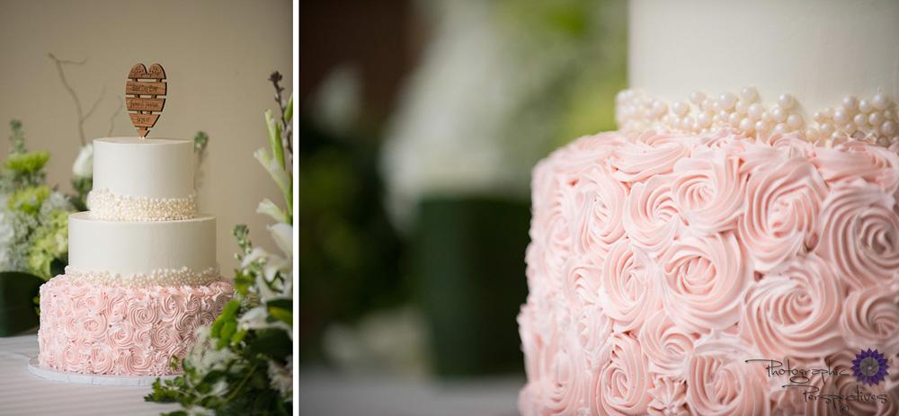 Isleta Resort Wedding | Wedding Reception | New Mexico Bride | Albuquerque Wedding Photographers | Photographic Perspectives |Pink Wedding Cake