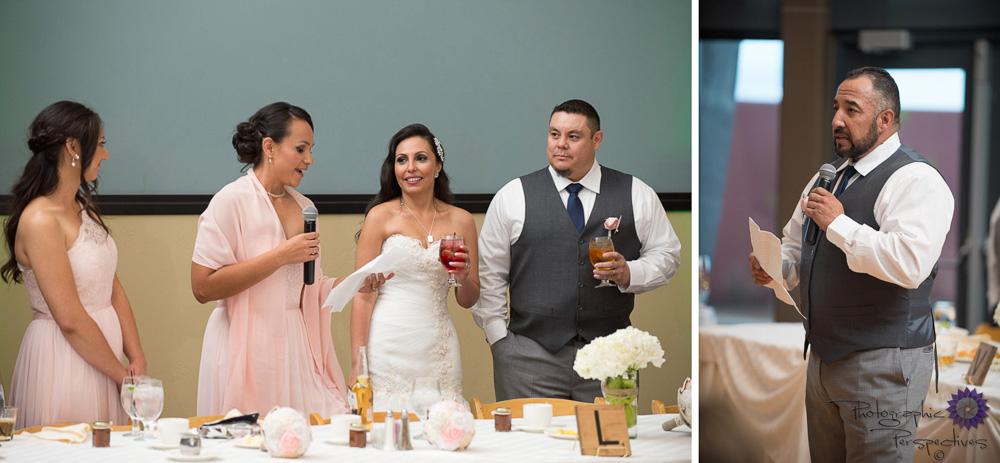 ABQ Wedding | Toasts | Isleta Resort Wedding | Wedding Reception | New Mexico Bride | Albuquerque Wedding Photographers | Photographic Perspectives