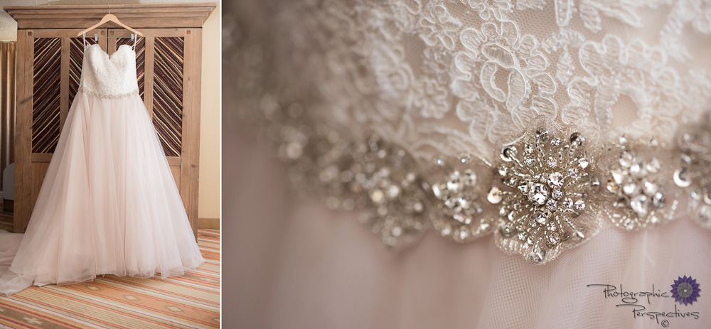 Hotel Albuquerque Wedding | Pink Lace Wedding Dress | New Mexico Wedding Photographers | Photographic Perspectives