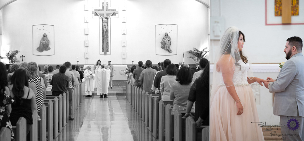 St Therese Catholic Church | Albuquerque Wedding Photographers | Catholic Wedding Ceremony | Photographic Perspectives
