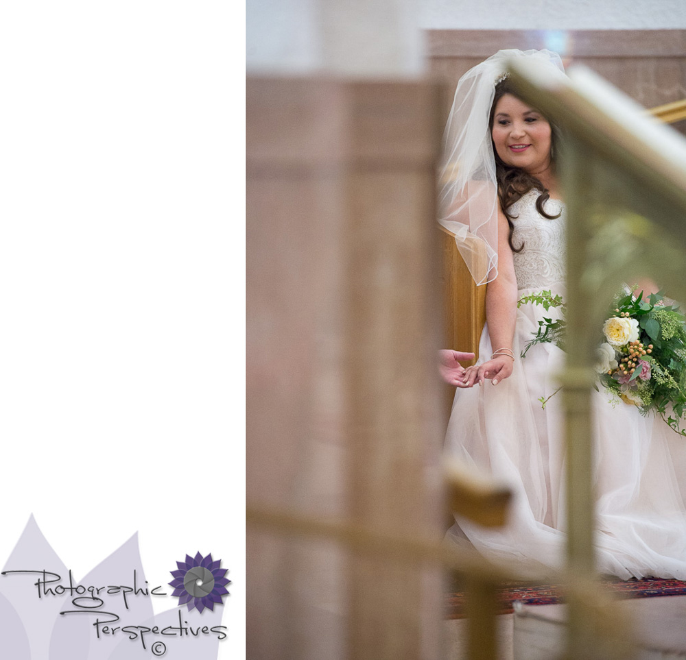 Photographic Perspectives |  St Therese Catholic Church  | Albuquerque Wedding Photographers | Catholic Wedding Ceremony