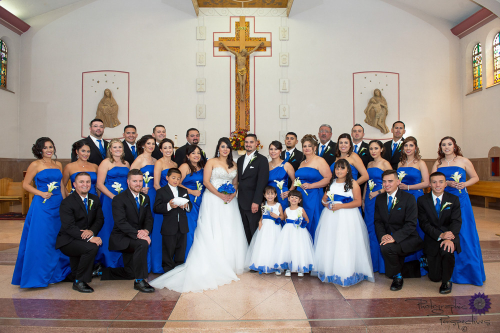 St Therese Catholic Church| Albuquerque Wedding Photographers