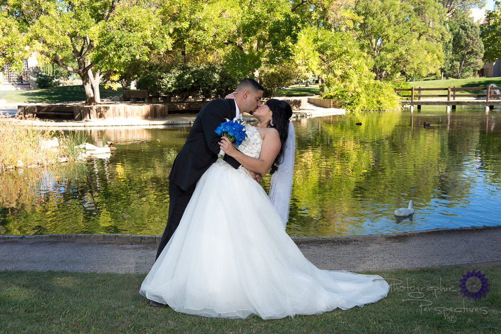 Albuquerque Wedding Photographers | UNM Duck Pond