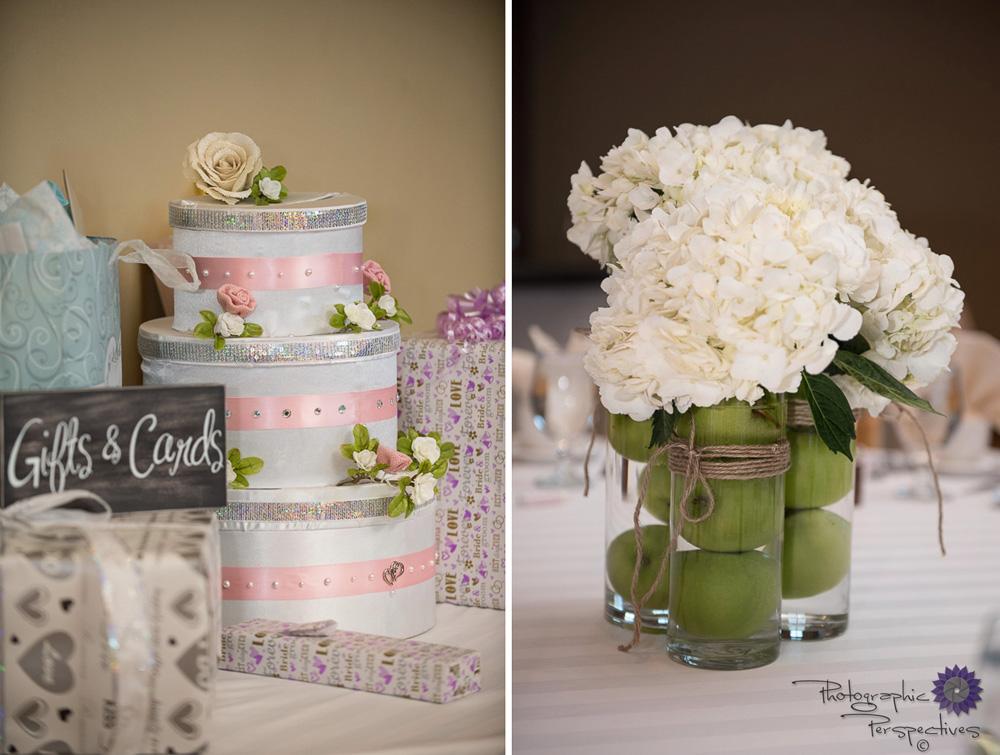 Green Apple Centerpiece | Albuquerque Wedding |Isleta Resort and Casino Wedding | Wedding Reception | New Mexico Bride | Albuquerque Wedding Photographers | Photographic Perspectives