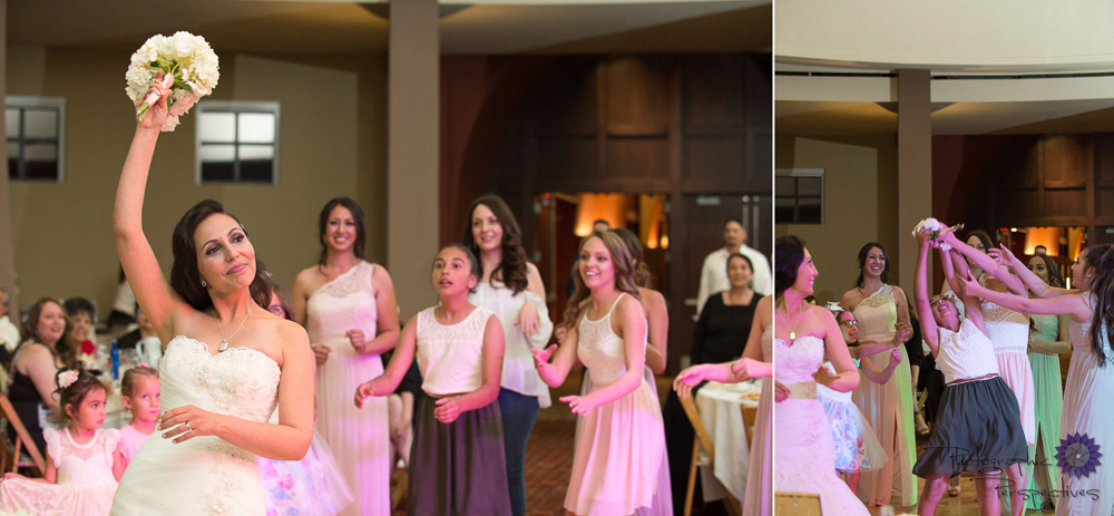 Isleta Resort Wedding | Wedding Reception | Bouquet Toss | New Mexico Bride | Albuquerque Wedding Photographers | Photographic Perspectives