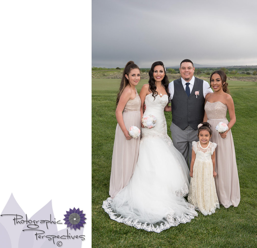 Albuquerque Wedding | Family Formal | Isleta Resort and Casino Wedding | Photographic Perspectives