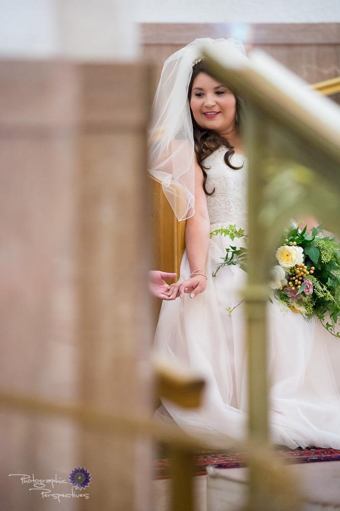 Catholic wedding, St. Therese Catholic Church NM
