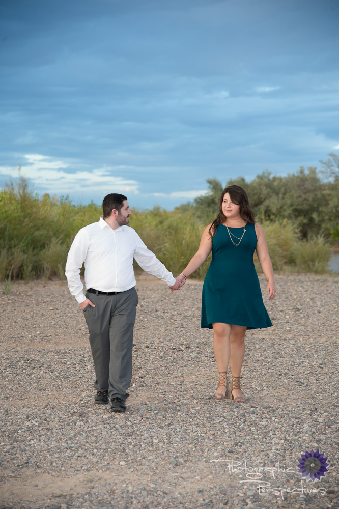 Rio Grande Bosque Engagement | New Mexico Wedding Photographers | Photographic Perspectives