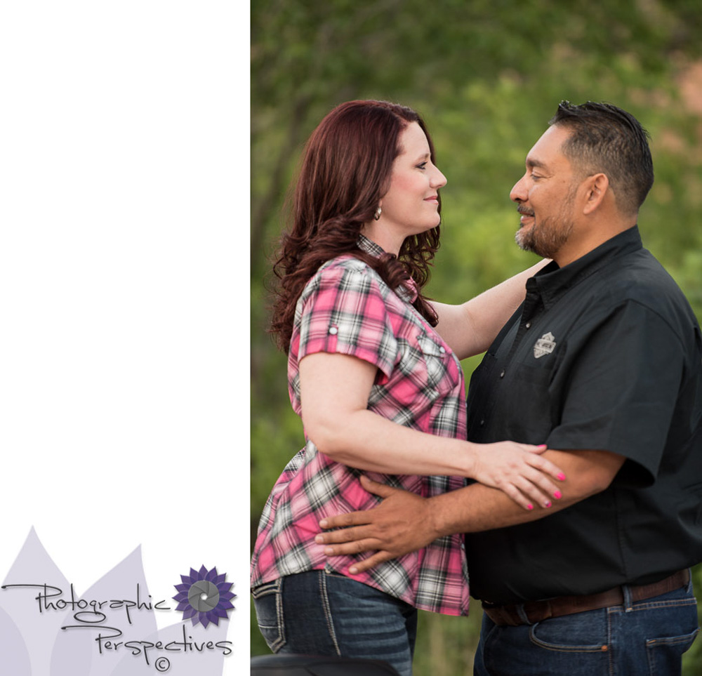 Harley Davidson Engagement Session in the Jemez Mountains of New Mexico