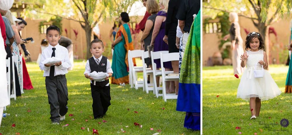 Ring Bearers | Flowers Girl | Albuquerque Wedding Photographers | Photographic Perspectives | New Mexico Wedding Photography