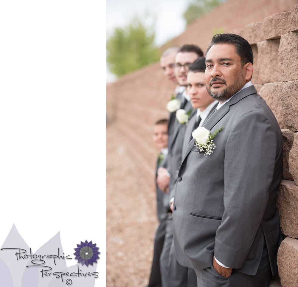 Photographic Perspectives | Noah's of Albuquerque | ABQ Wedding Photographers | Groom Prep | Noahs Event Venue Wedding
