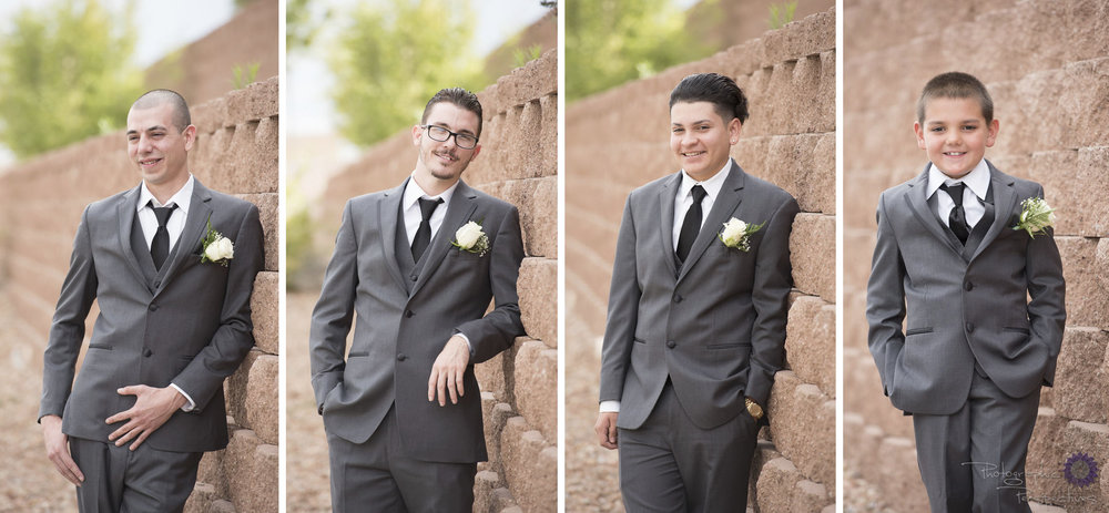 Albuquerque Wedding Photographers | Noah's Event Venue Wedding | Photographic Perspectives | Groomsmen | Groom Prep