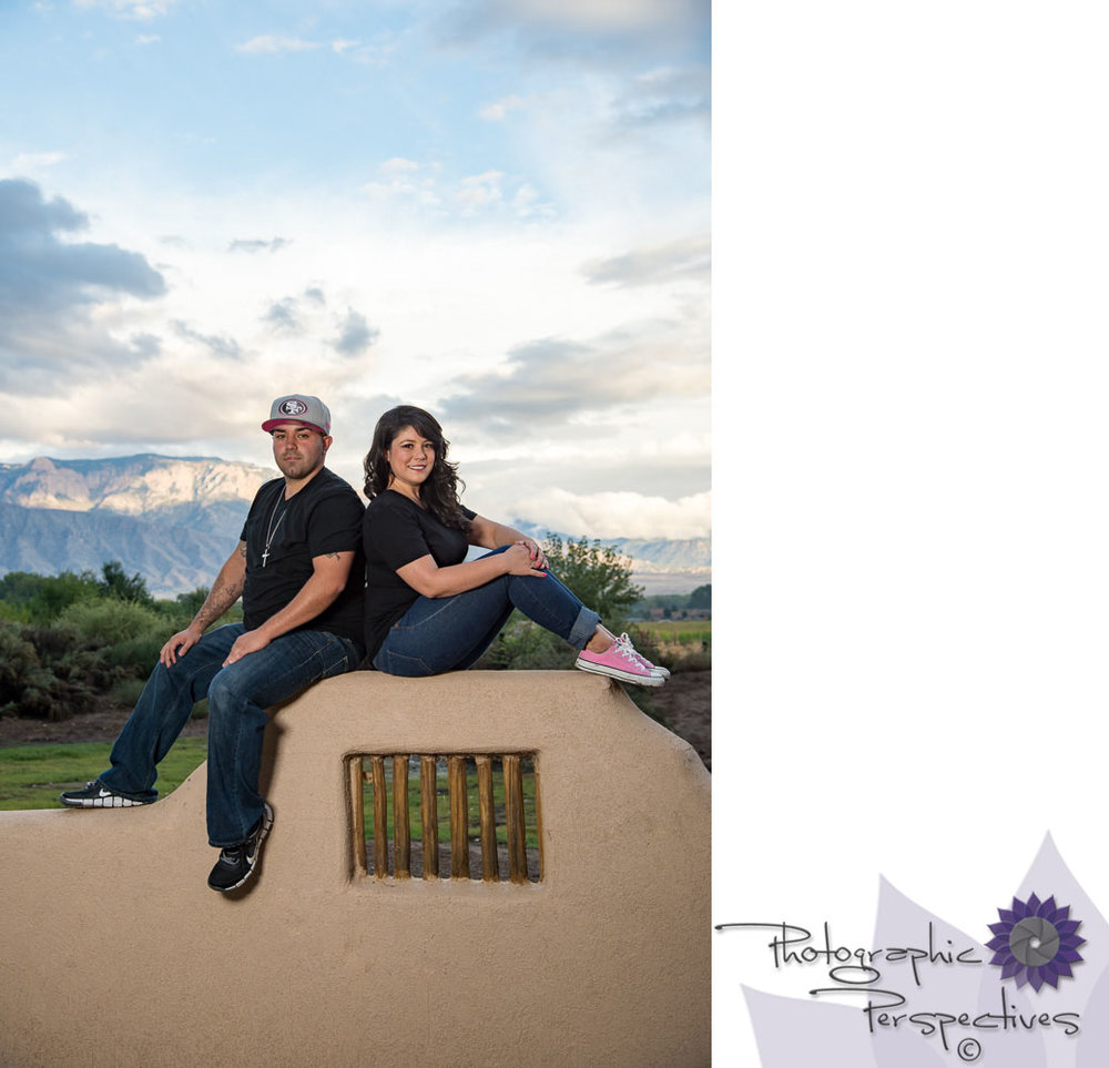 Albuquerque Engagement Photographers | New Mexico Wedding Photographers | Photographic Perspectives | Corrales Engagement