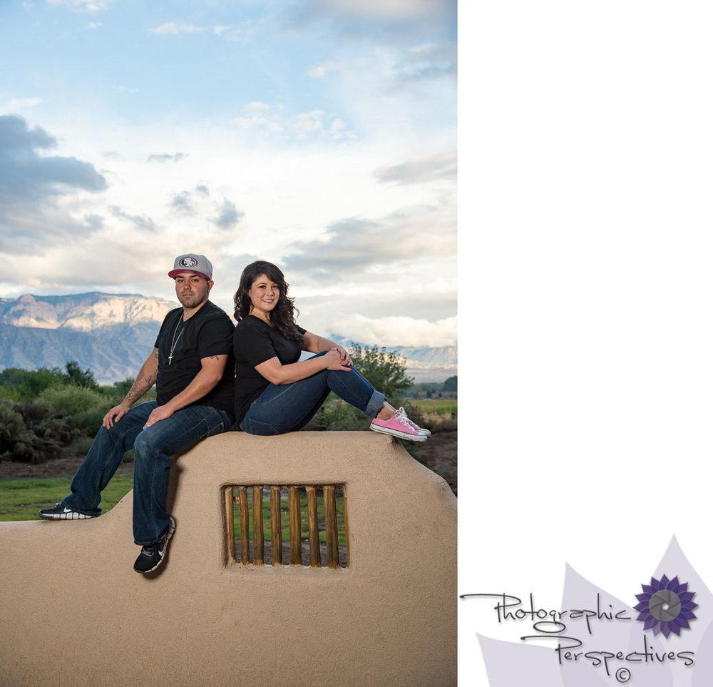 Albuquerque Engagement Photographers | New Mexico Wedding Photographers | Photographic Perspectives | Corrales Engagement