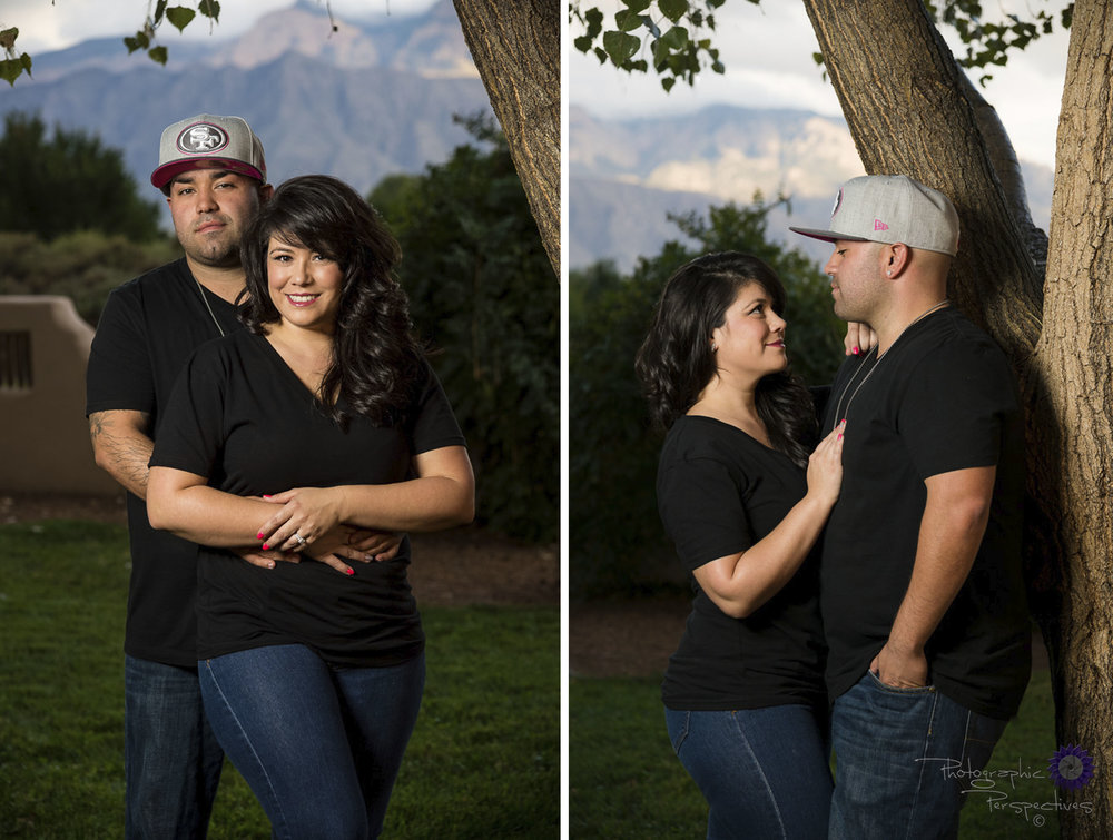 Sandia Mountains| New Mexico Engagement Photographers | Photographic Perspectives | Corrales Engagement Session