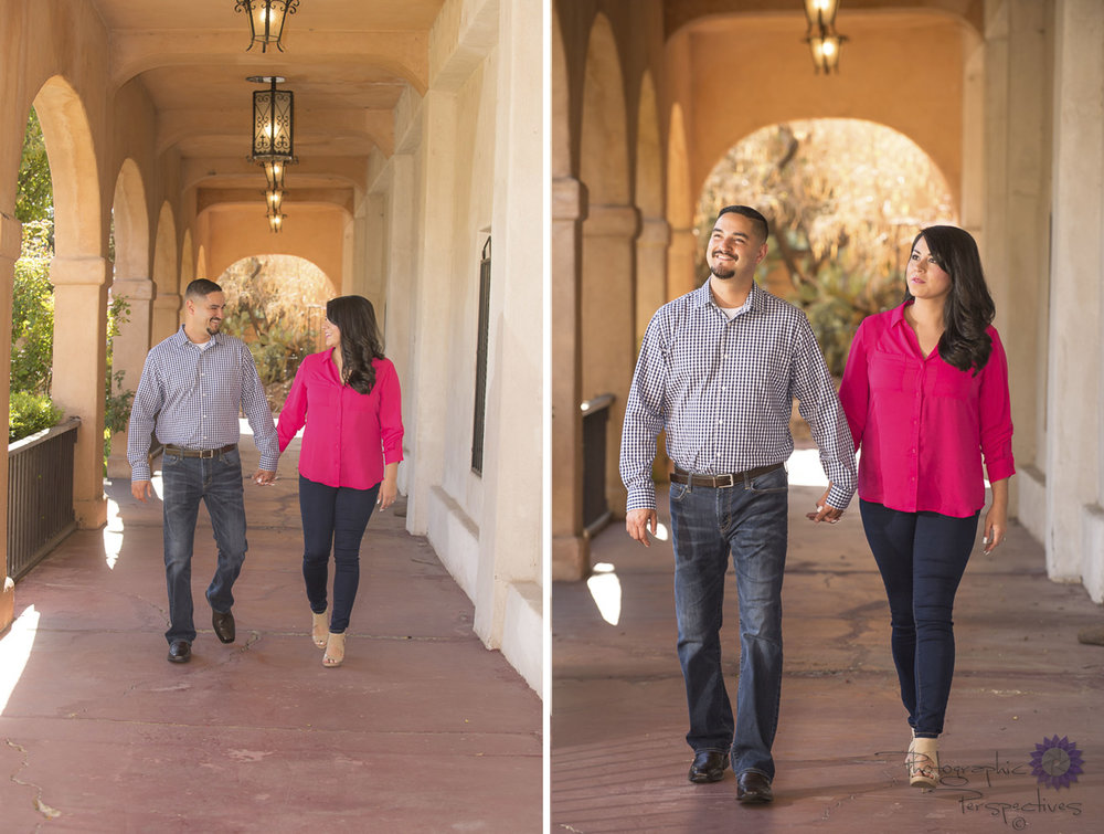 Engagement Photographers Albuquerque | Photographic Perspectives | ABQ Old Town | New Mexico Engagement Session