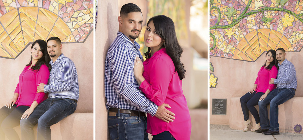 Photographic Perspectives | ABQ Old Town | Engagement Photographers Albuquerque | New Mexico Engagement Session | Albuquerque Engagement Photography