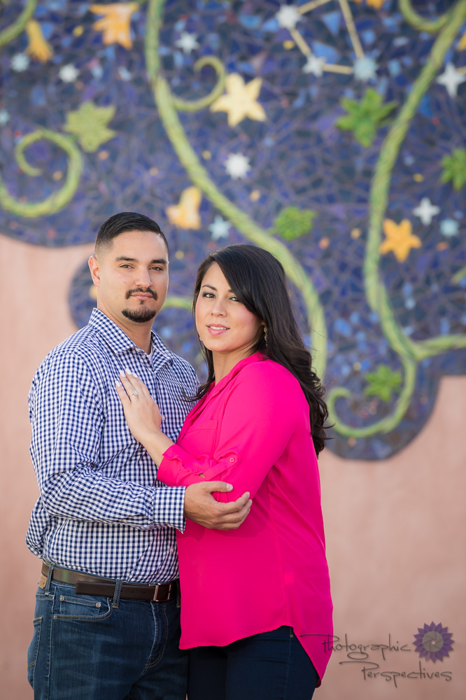Engagement Photography ABQ | Photographic Perspectives | ABQ Old Town